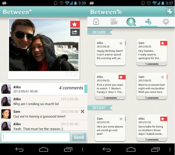 Between-screenshots