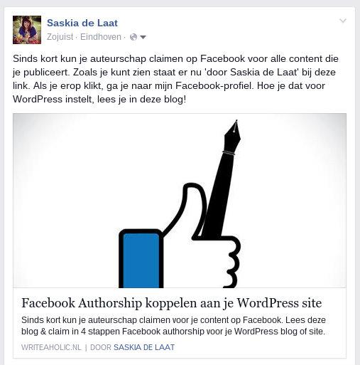 facebook auteurschap claimen