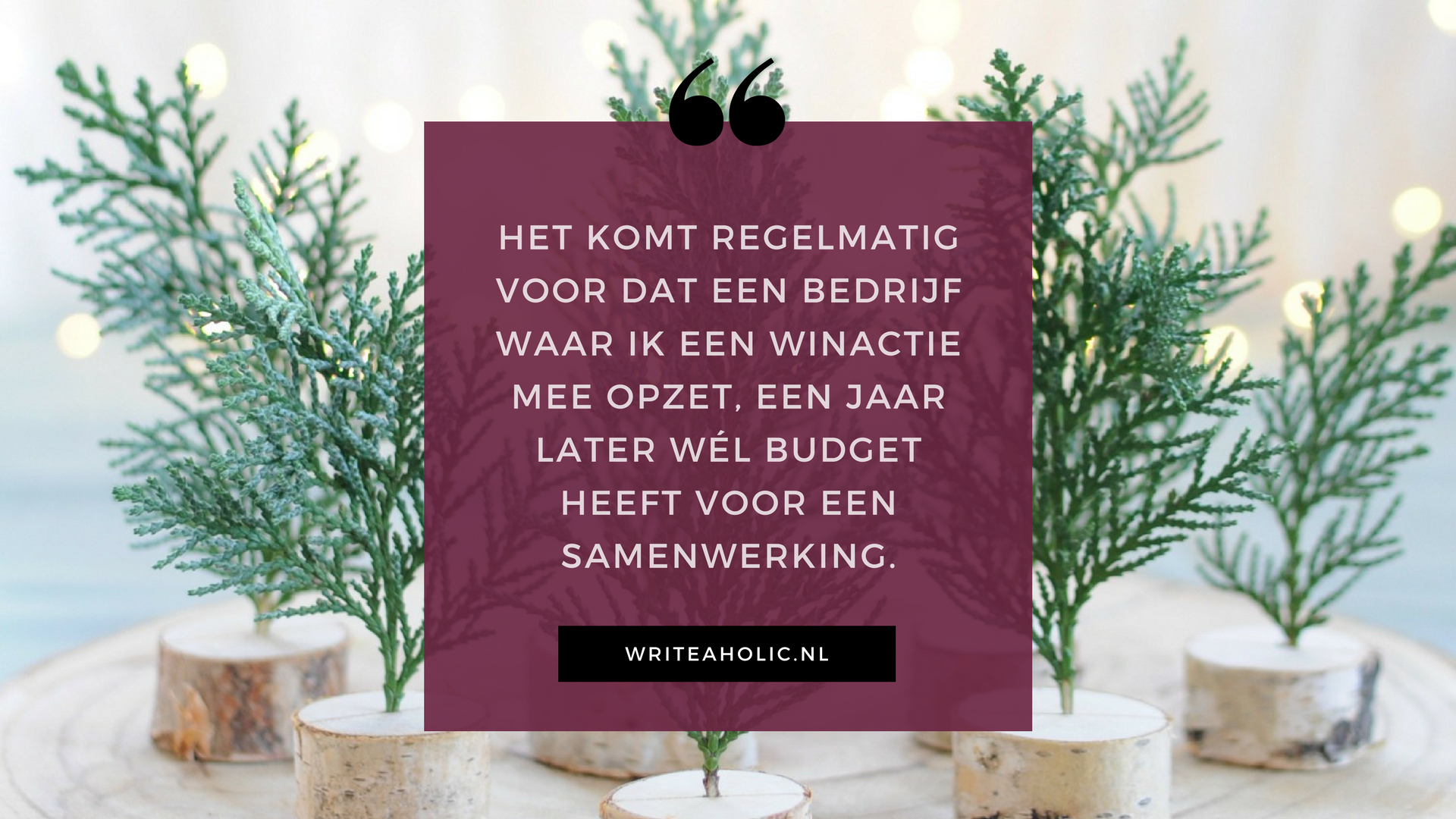 advertenties op je blog - winacties