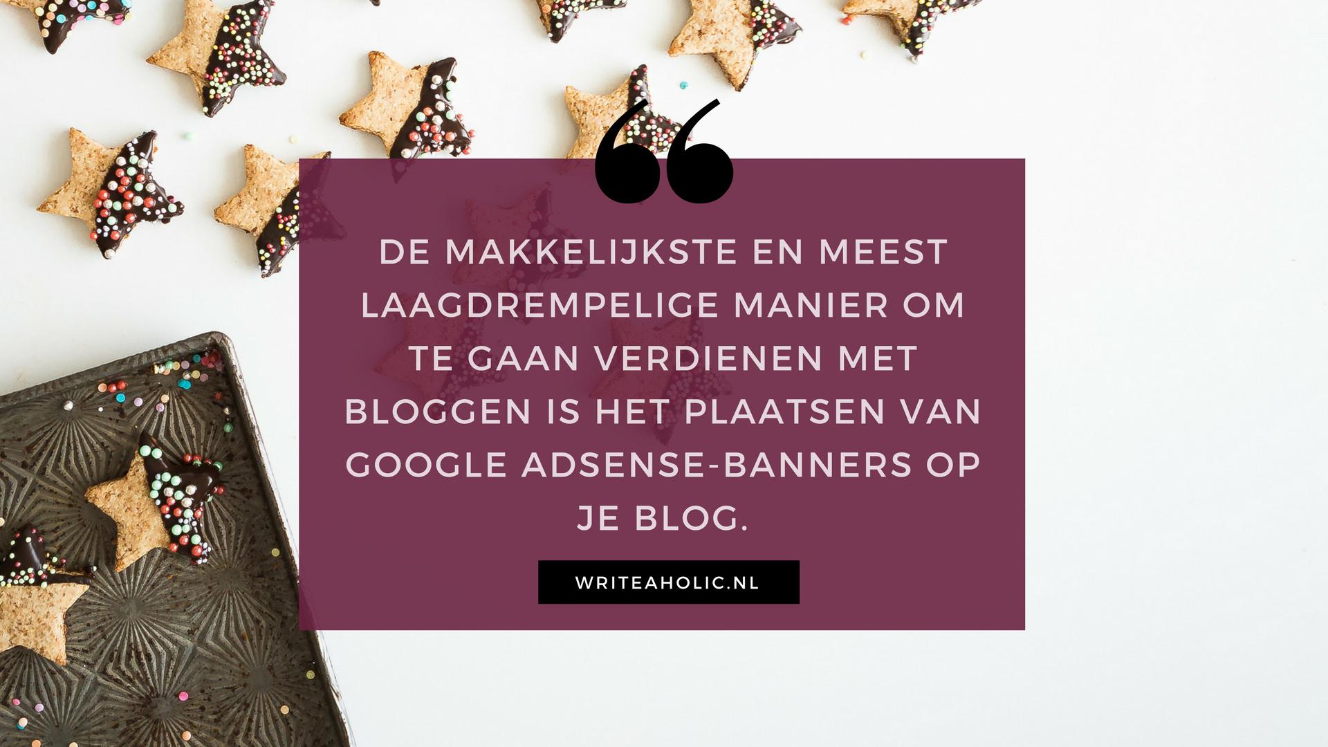 Geld Verdienen Met Je Wordpress Blog Doe Je Zo Writeaholicnl
